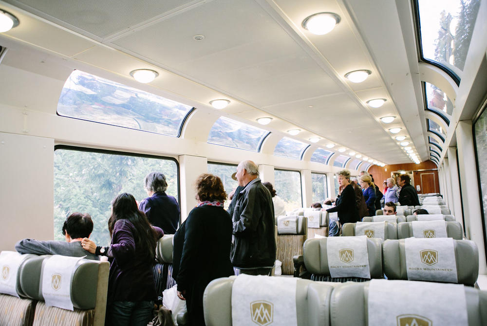 Rocky Mountaineer Silverleaf Train Carriage