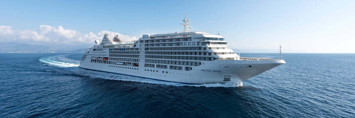 Silver Muse - First look at the latest Silversea luxury ship