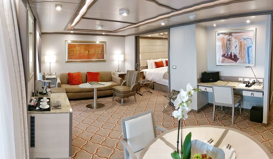Suite on Silver Muse, Silversea Cruises