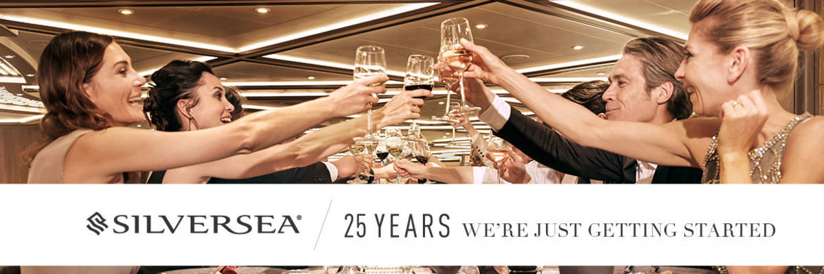 Silversea Celebrate 25 years Anniversary