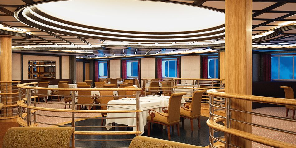 Silversea Cruises Atlantide Restaurant