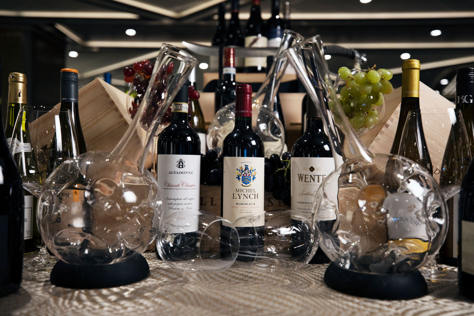 Silversea Cruises Wine Collection