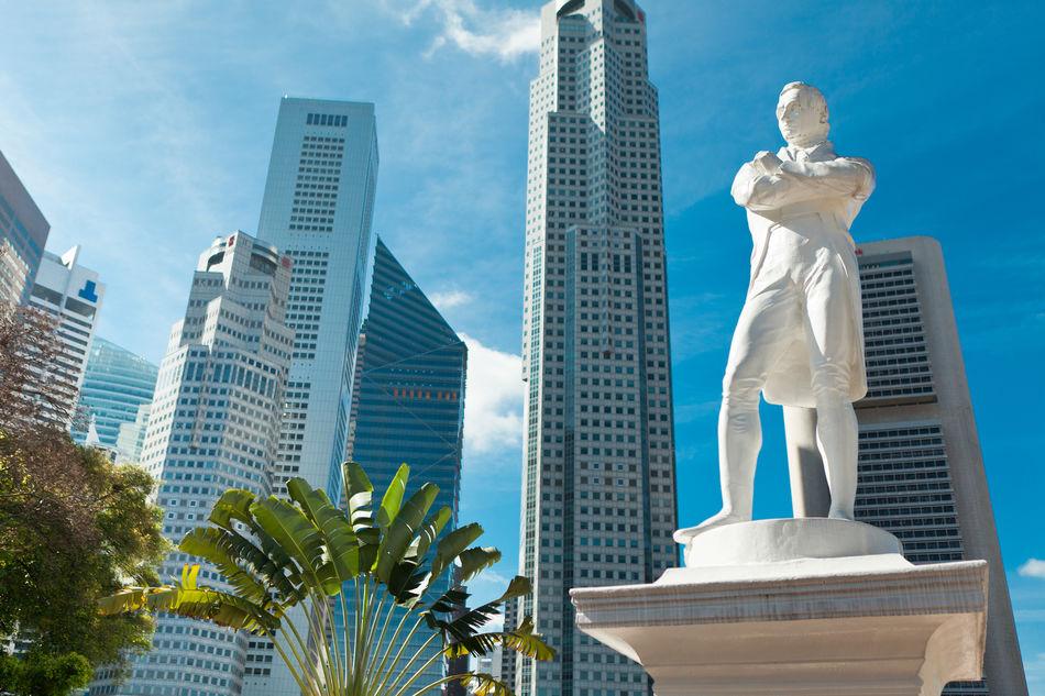 Statue of Sir Raffles, Singapore