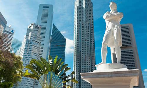 Sir Raffles Statue, Singapore