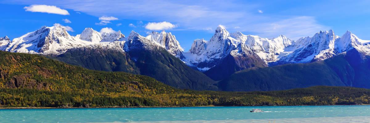 Skagway, Alaska. Chilkat Peninsula