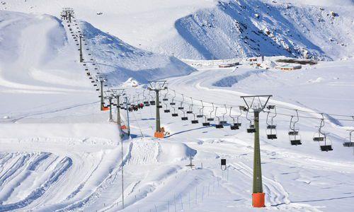 Ski Resort in Santiago Chile