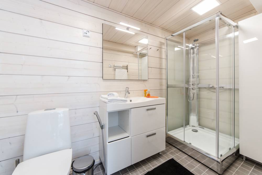 Sky View Cabin Bathroom