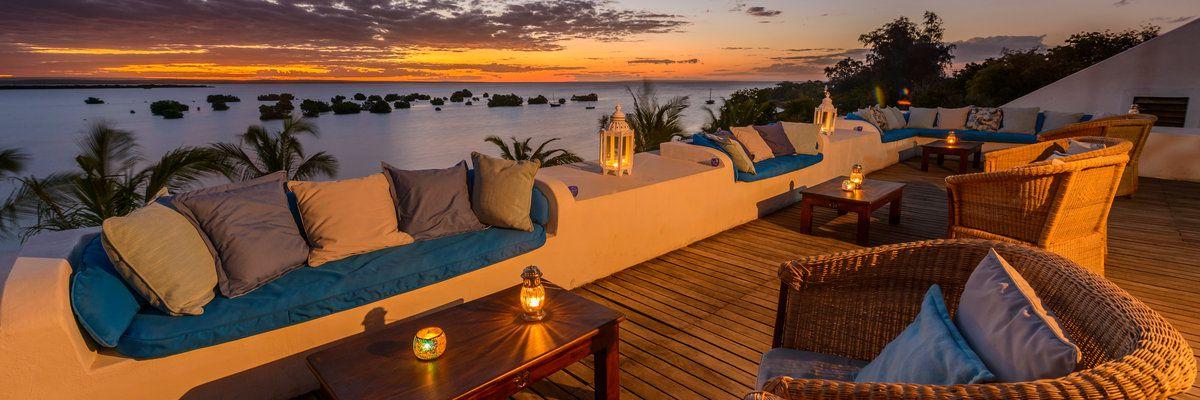 Sky Bar, Island Lodge, Ibo Island