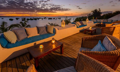 Sky Bar, Island Lodge, Ibo Island