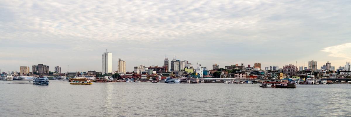 Skyline of Manaus, Brazil