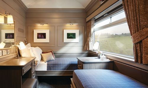 Sleeping car from door - Belmond Grand Hibernian