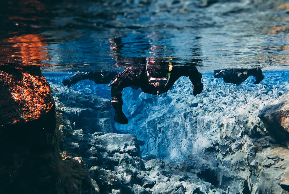 Snorkelling between continents