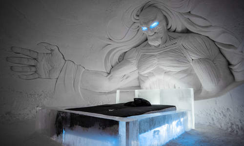 Game of Thrones themed ice hotel in Finnish Lapland