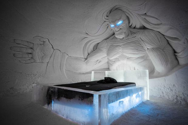 Lainio Snow Village hotel in Finland Lapland