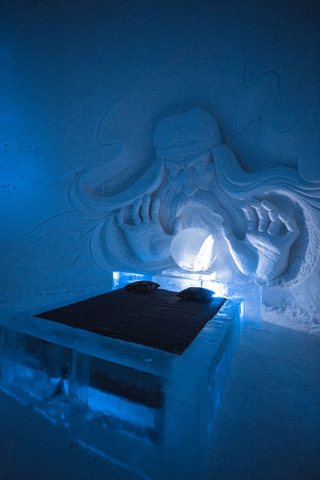 One of the GOT Themed Bedrooms at Snow Village, Finnish Lapland