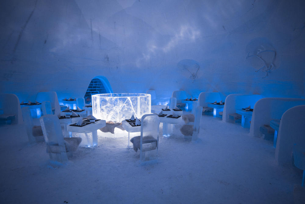 The Frozen Dining Room, Game of Thrones at Snow Village, Finland