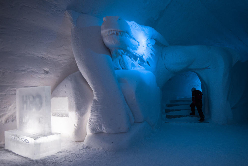Game of Thrones at Snow Village, Finland