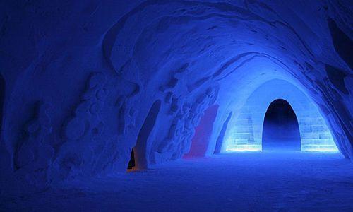 Snow Village Ice Hotel, Lainio, Lapland, Finland