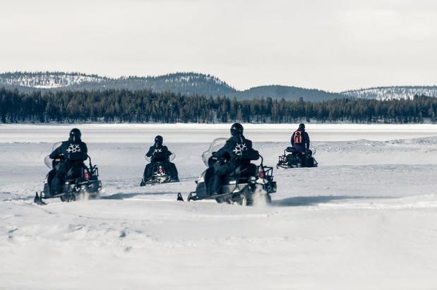 Snowmobile Excursion, ICEHOTEL (Credit: Markus Alatalo)
