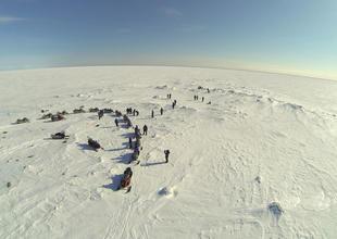 Snowmobile safari Brandon Lodge Sedish Lapland