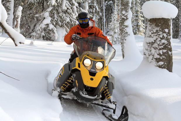 Snowmobile excursion