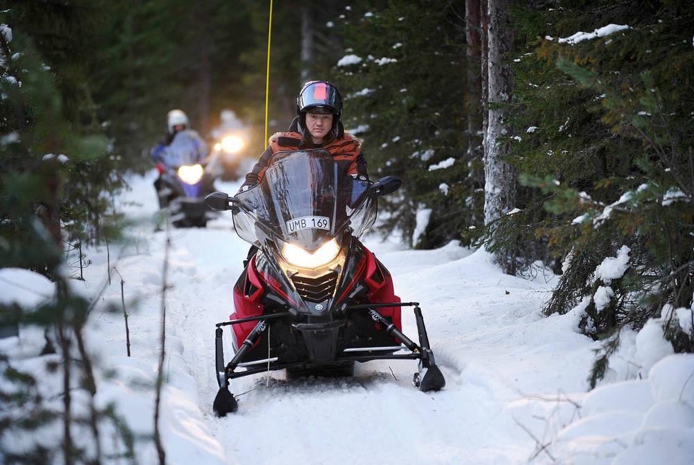 Snowmobiling, Luleå