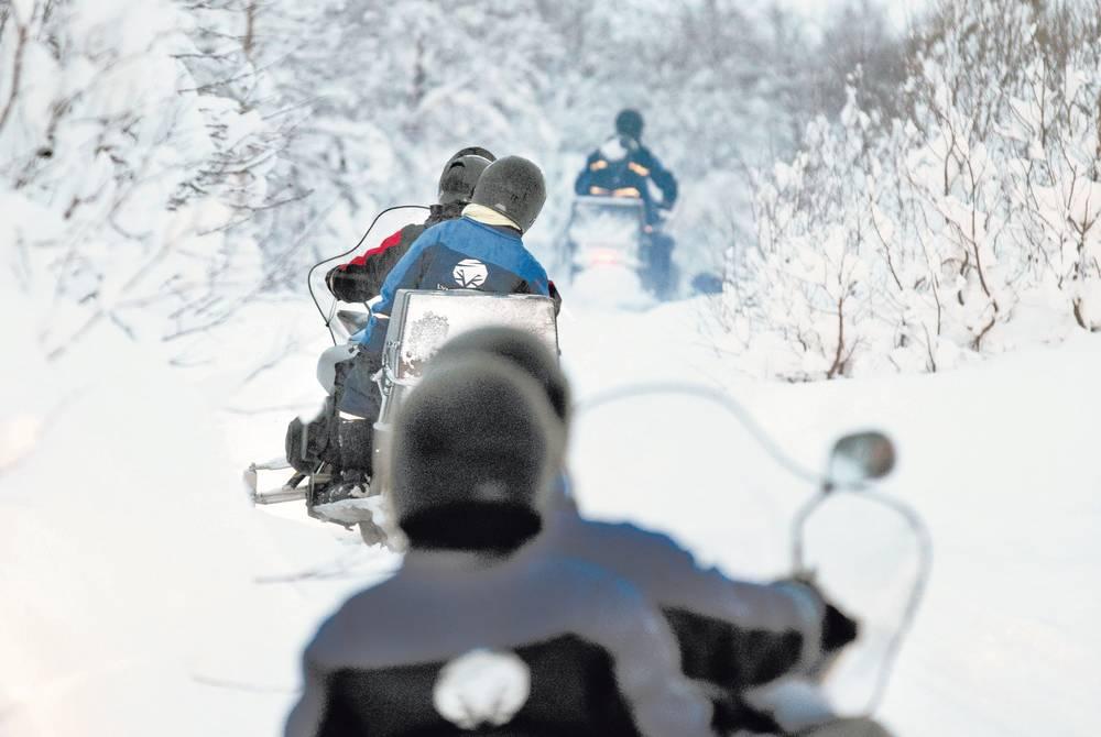 Snowmobiling, Tromso