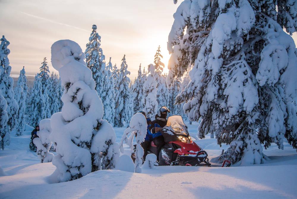 Snowmobiling tour, Rovaniemi (Credit: Visit Rovaniemi)