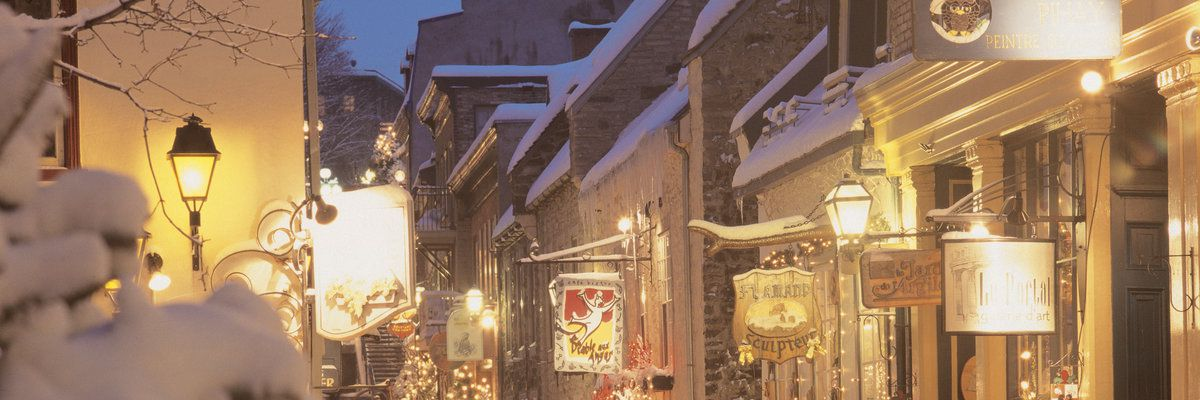 Snowy Lanes, Quebec City