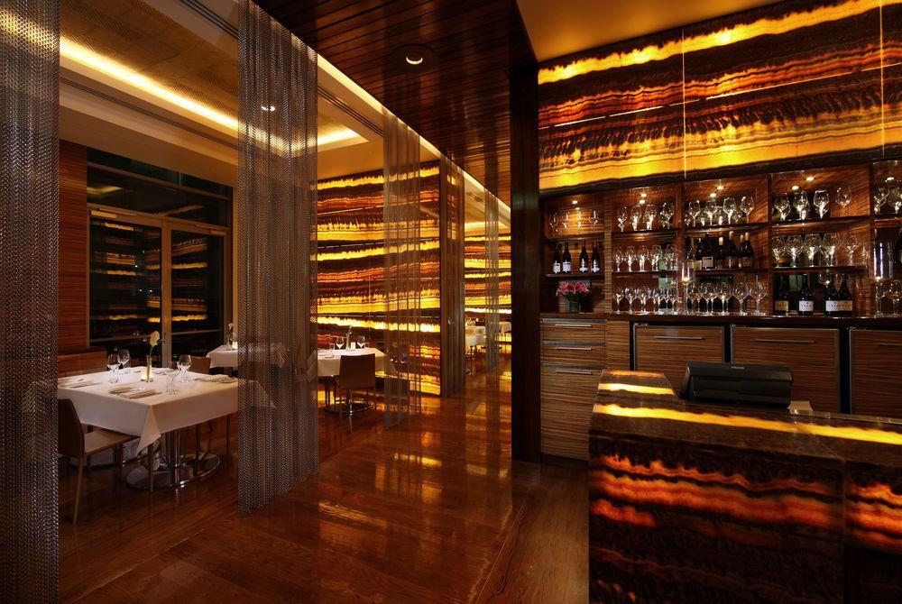 Sofitel Auckland Lava dining room, New Zealand
