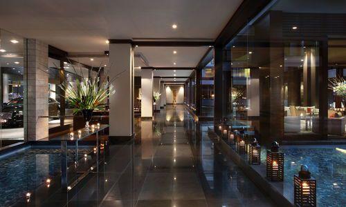 Sofitel Auckland lobby, New Zealand