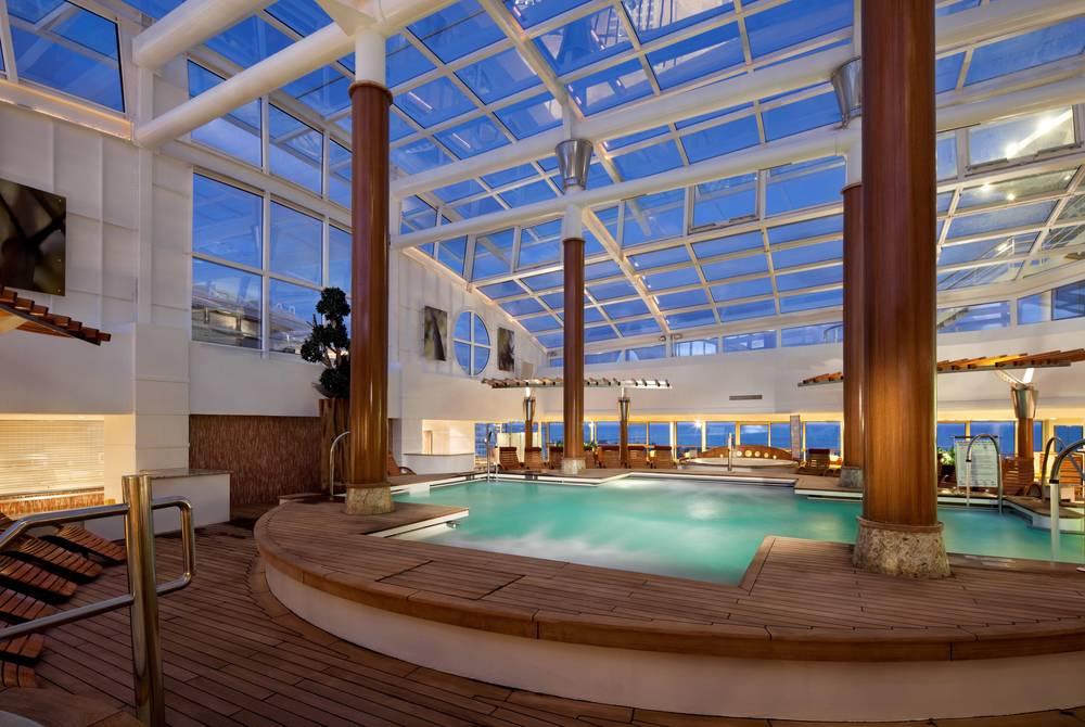 Solarium, Celebrity Cruises