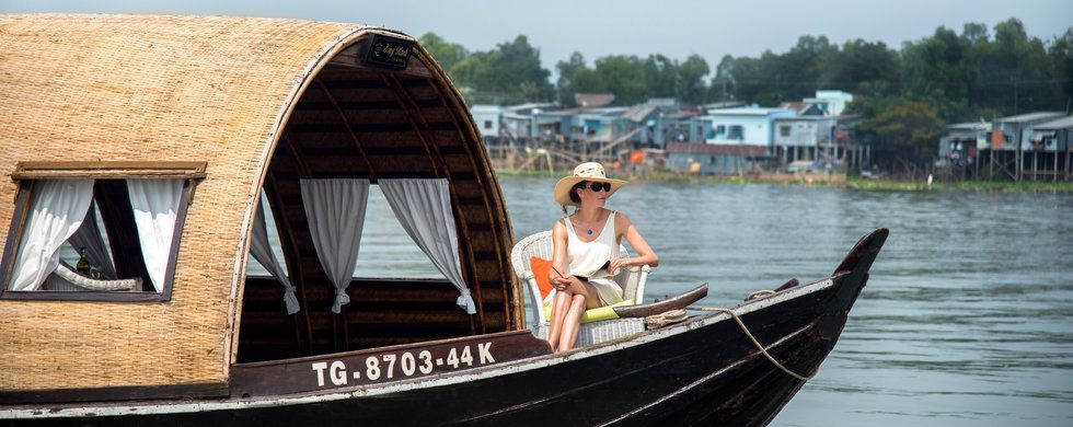 Song Xanh Sampan, Song Xanh Sampan, Victoria Cruises, Vietnam, Mekong Delta