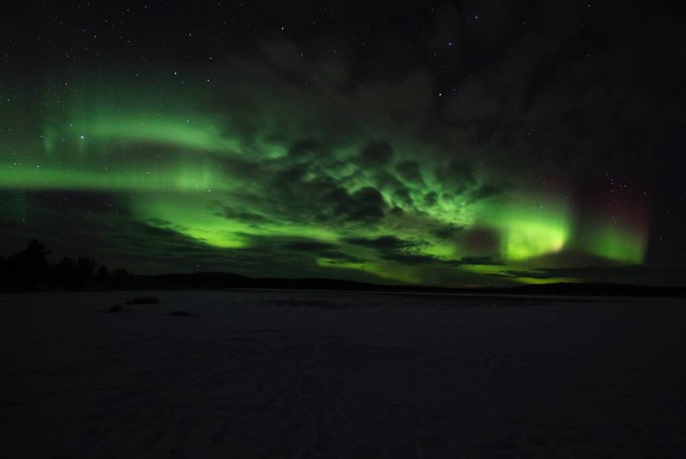Sophie Sadler's photography of the Northern Lights