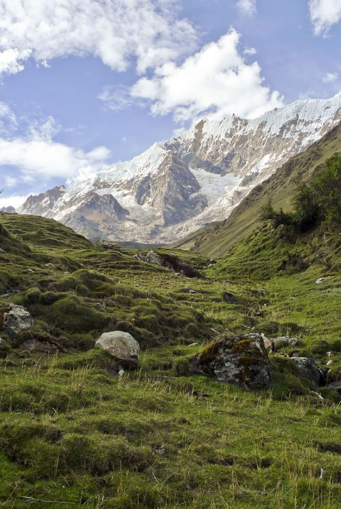 Soray Basecamp, Salkantay Trek, Andes, Peru