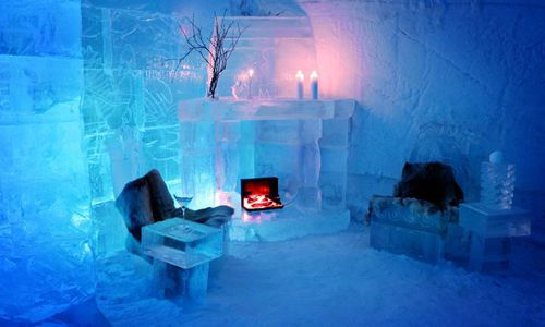 Sorrisniva Igloo Hotel, Alta, Norway