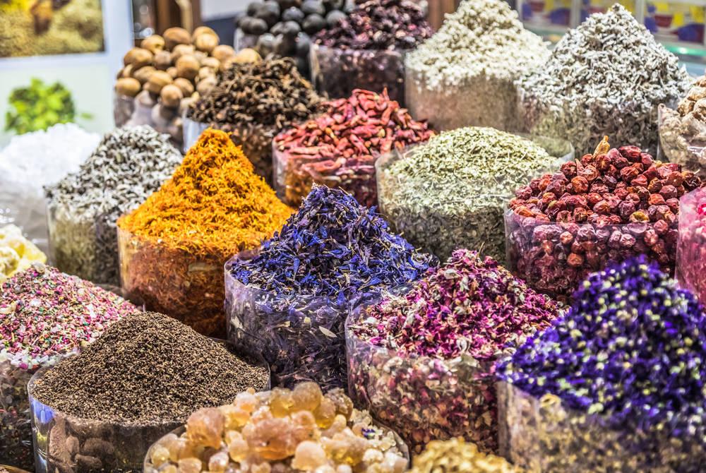 Souk market spices, Dubai