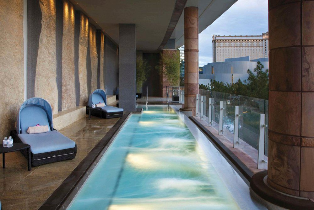Spa Pool, Aria Resort and Casino