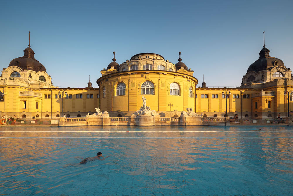 Spa Szechenyi Bath, Budapest