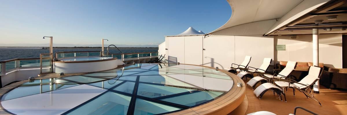 Spa Terrace, Seabourn Quest - Seabourn Cruises