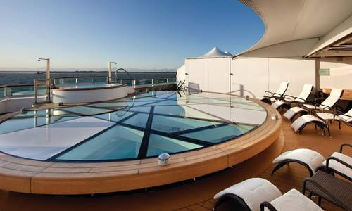Spa Terrace, Seabourn Quest - Seabourn Cruises