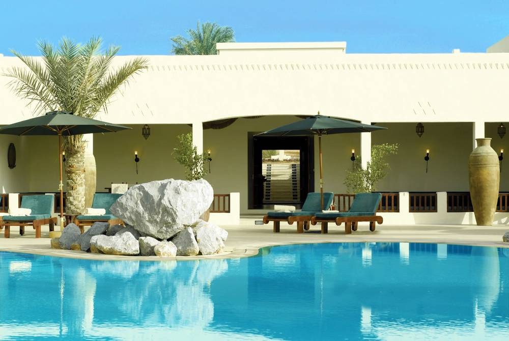 Spa exterior, The Al Maha Desert Resort, Dubai