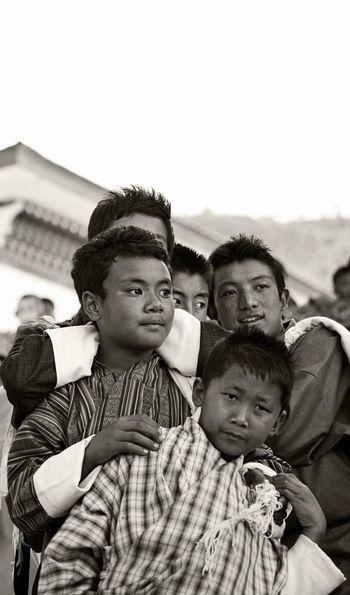 Spectators at Thimphu Festival (Credit: Uma by COMO)