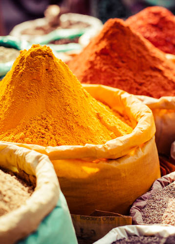Spice market, Old Delhi