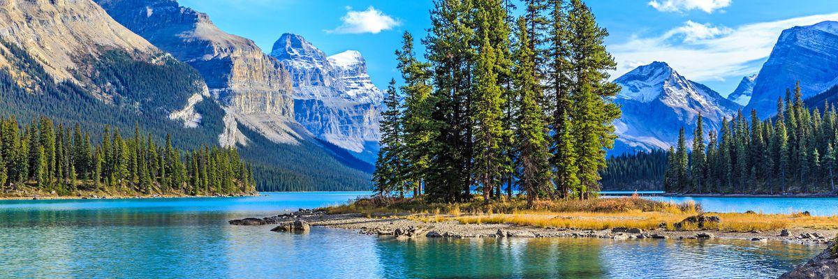 Spirit Island, Jasper National Park