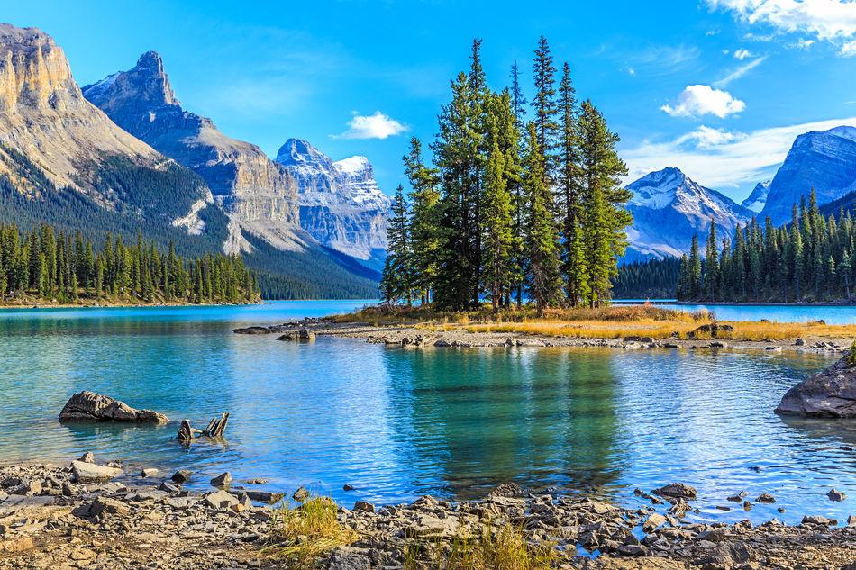 Spirit Island, Maligne Lake, Jasper