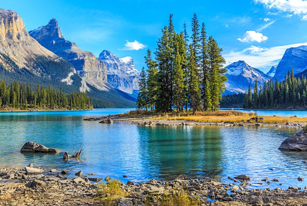 Spirit Island, Maligne Lake, Jasper National Park