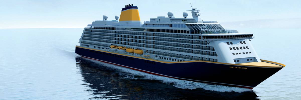 Saga Cruises Reveals 'Spirit of Discovery'