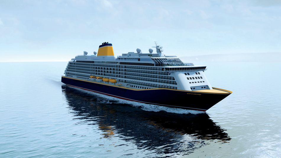 Saga Cruises new ship Spirit of Discovery