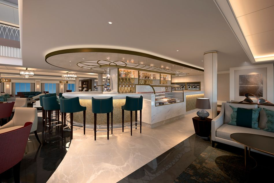 The Living Room on Spirit of Discovery
